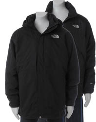 North Face 2 i 1 med fleece